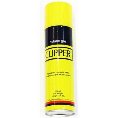 Газ Clipper 250ml металл.