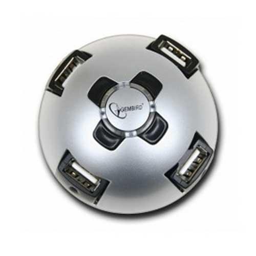 Концентратор USB2.0 Gembird UHB-CT04 4port Полусфера