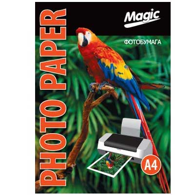 Фотобумага Magic A4 double Glossy/Glossy Photo Paper 50л 230г/м2 глянец
