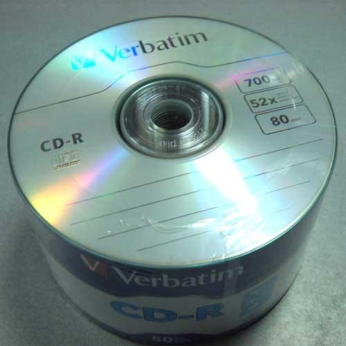 Диск CD-R Verbatim 700Mb/80min 52x (Wrap 50 ) 43787 (Акция!!!)