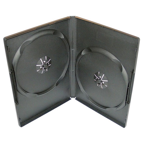 Коробка 2DVD-BOX 9mm Black