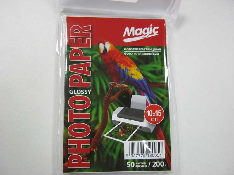 Фотобумага Magic A6 Glossy Photo Paper 50л 200г/м2 глянец