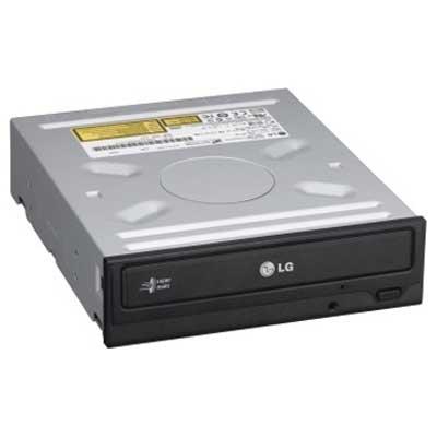 Привод DVD+/-RW LG GH24NSBO; SATA; black