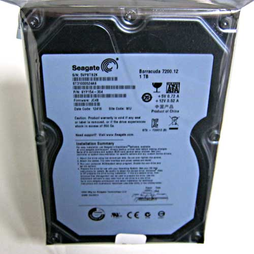 Жесткий диск HDD 1,0Tb Seagate Barracuda,64Mb,7200rpm,SATAIII