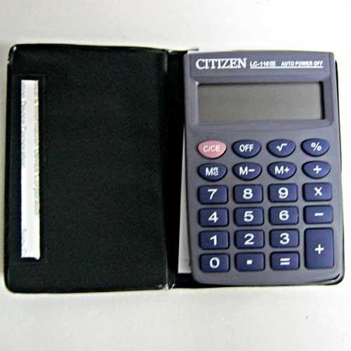 Калькулятор CITIZEN LC110 карманый 8разрядный