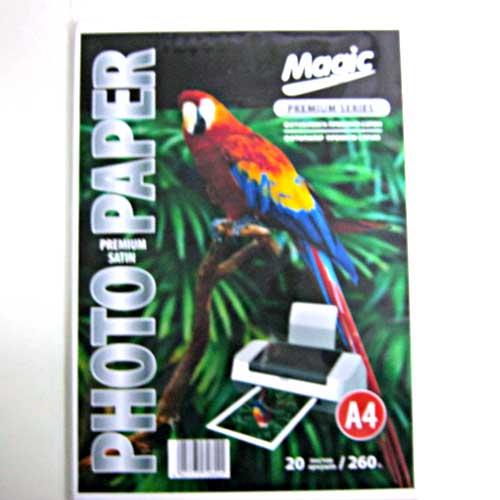 Фотобумага Magic A4 PS Премиум Сатин Photo Paper 20л 260г/м2