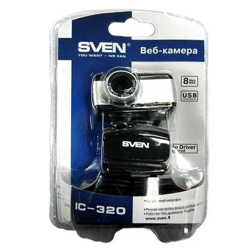 Web камера Sven-320WEB USB 8.0Mp(с микрофоном)