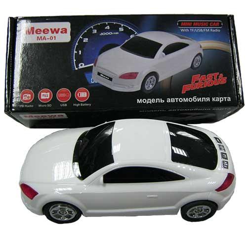 Портативная колонка Meewa MA-01 (Автомобиль)(Распродажа!!!)USB;microSD
