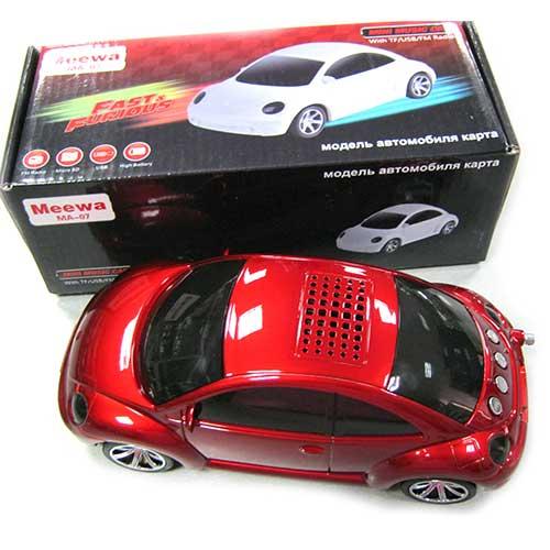 Портативная колонка Meewa MA-07 (Автомобиль)(Распродажа!!!)USB;microSD