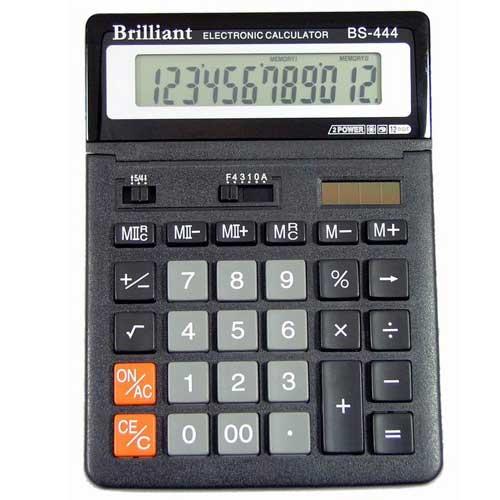 Калькулятор Brilliant BS-0444 12 разрядный