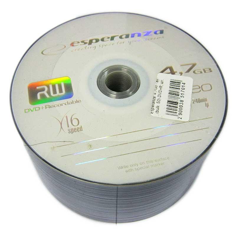 disk-esperanza-4-7gb---16x-bulk-50-dvd-r