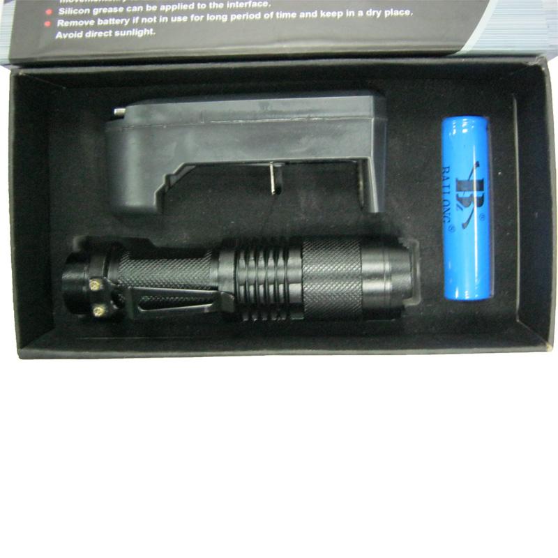 Фонарь аккумуляторный Bailong BL-1812-Т6 (10000W+ЗУcеть;Li-ion18650)