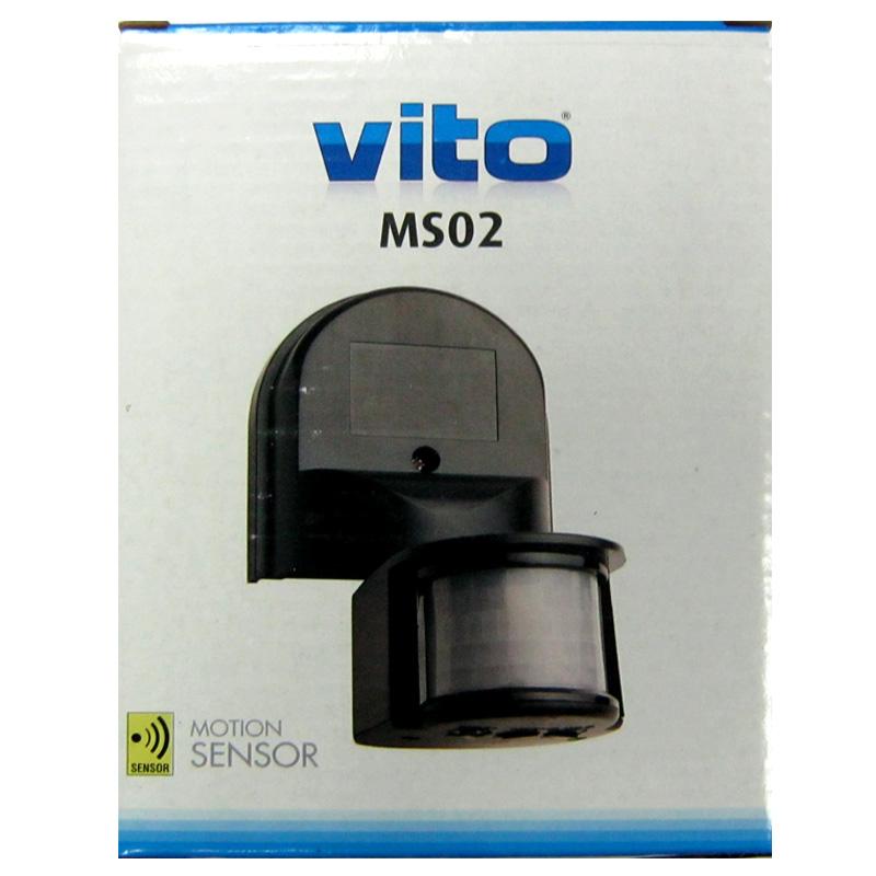 Датчик Vito VT276(MS02) 180градусов (фотосенсор+датчик движения)