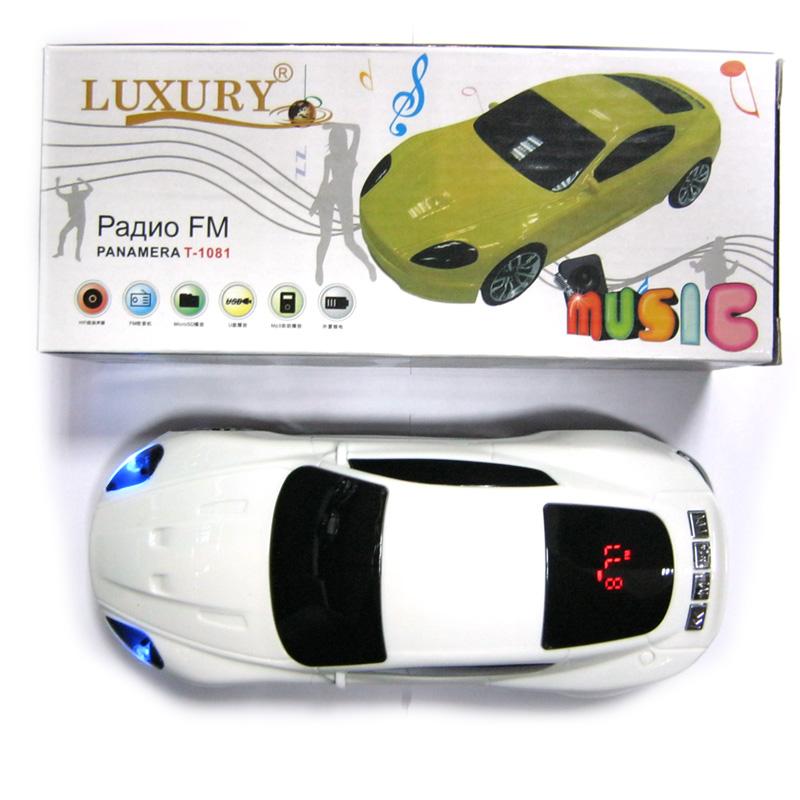 Портативная колонка Luxury T-1081 (Автомобиль)(Распродажа!!!)
