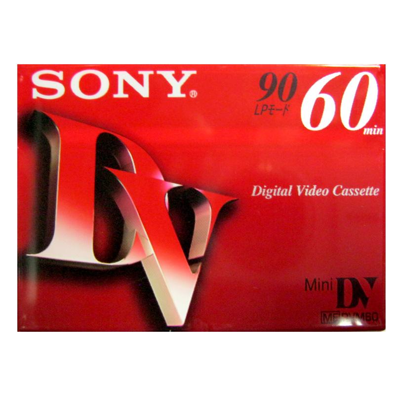 Видеокассета мини DVC Sony DVM-60R3 60мин