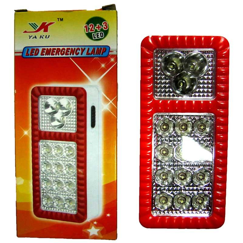 Фонарь туристический YK-2014 (12+3 LED;аккум,два режима)(Распродажа!!!)