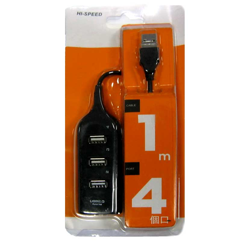 Концентратор USB HUB HB-XD4