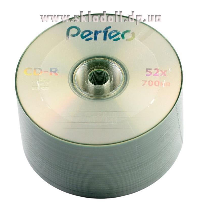 Диск CD-R Perfeo 700Mb/80min 52x (bulk 50) (CMC)