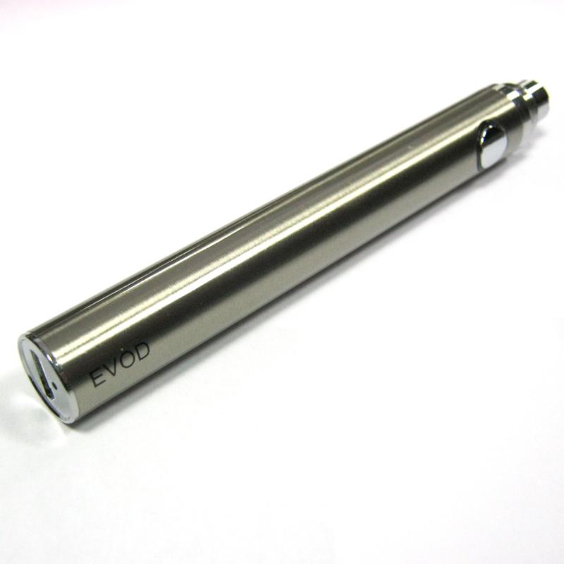 Аккумулятор EVOD-U 1100мАh стальной под USB(Распродажа)(сменный для эл.сигарет)