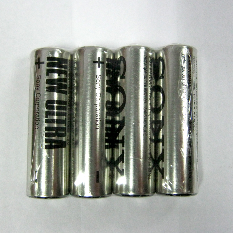 Батарейка R6 Sony New ultra trey по 4шт.(Супер цена!!!)