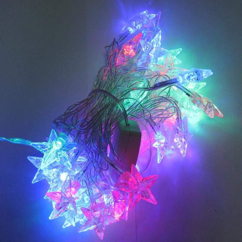 Гирлянда новогодняя 40 LED (3-х цветная,