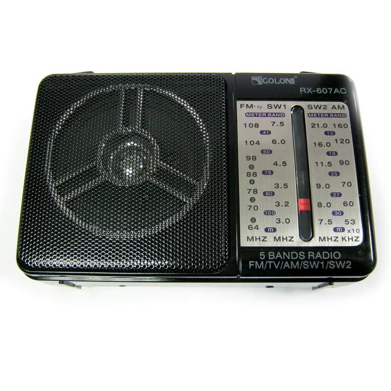 Радиоприёмник Golon RX-607AC (сеть+батарейки)