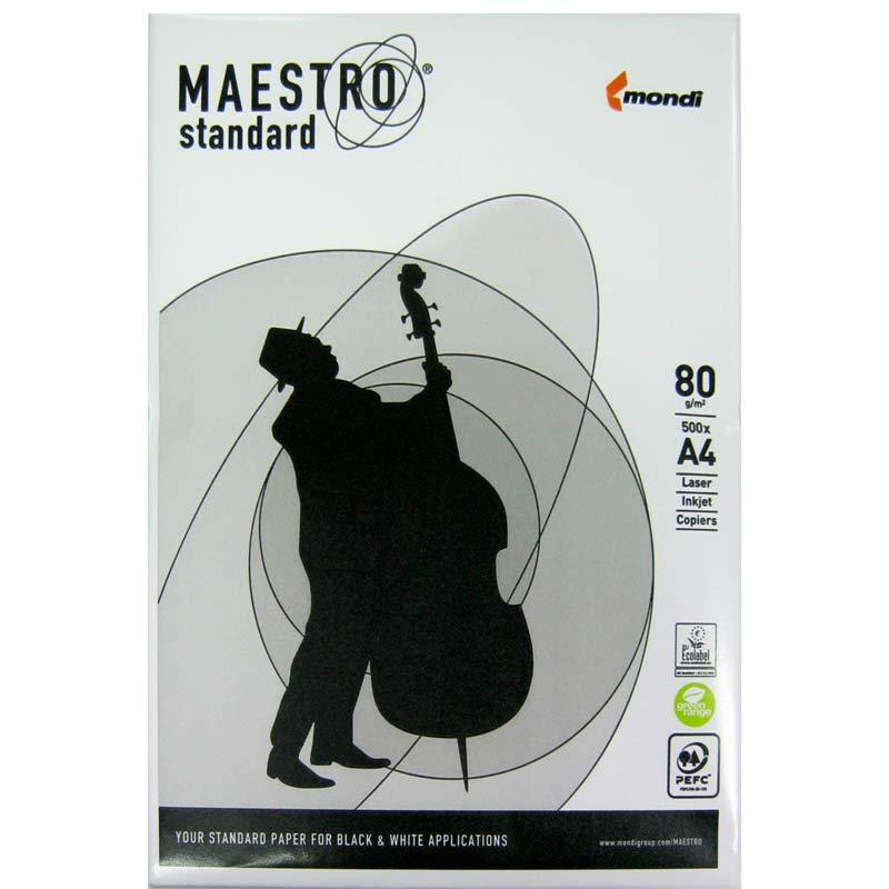 Бумага офисная A4 Maestro Standart+ 80 г/m2 (500 листов)