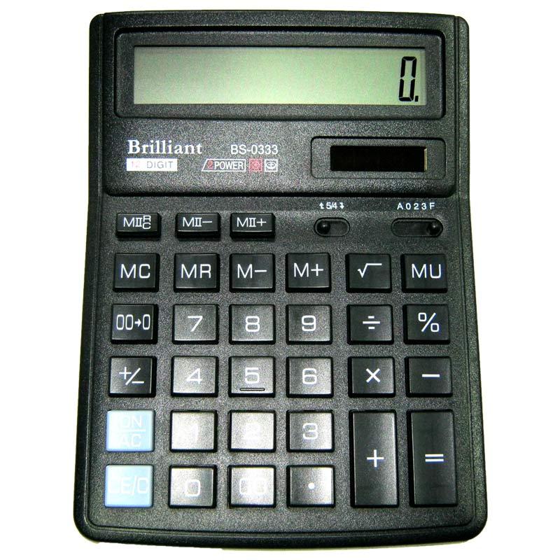 Калькулятор Brilliant BS-0333 12 разрядный