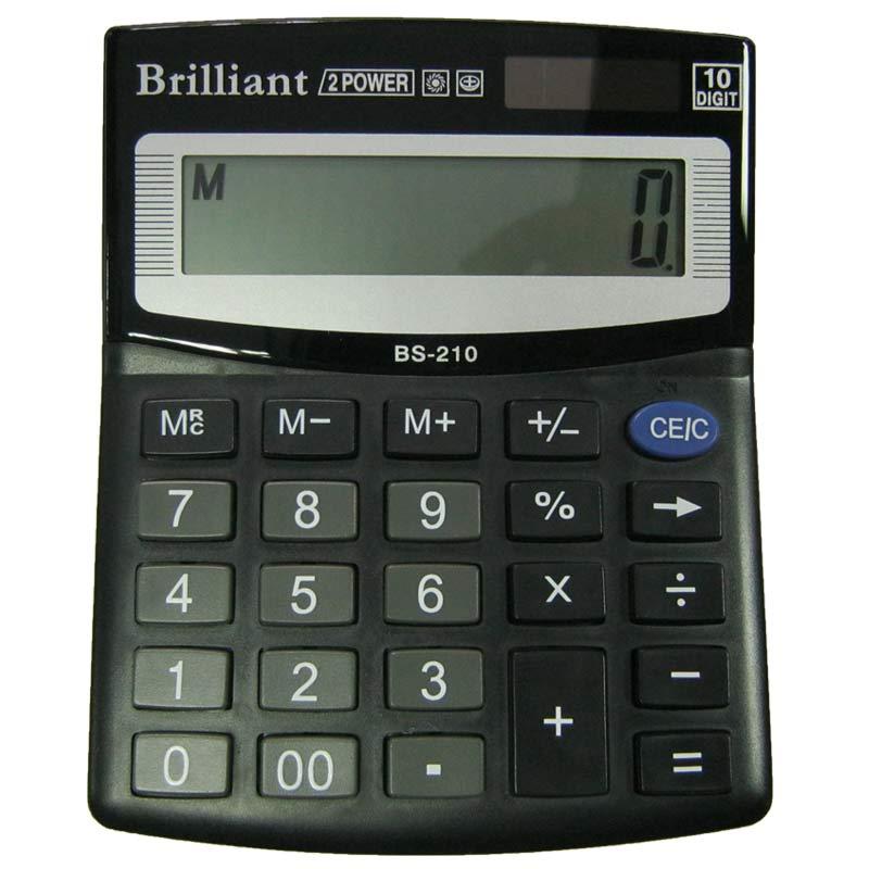 Калькулятор Brilliant BS-210 10 разрядный