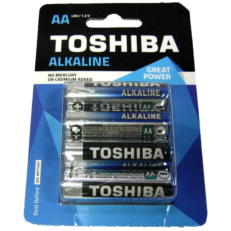 Фото нетБатарейка LR6 Toshiba блистер (по 4шт)