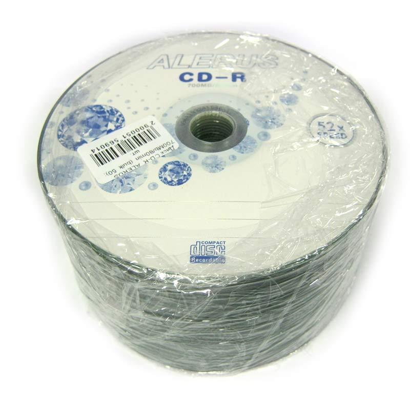 Диск CD-R ALERUS 700Mb/80min (bulk 50)