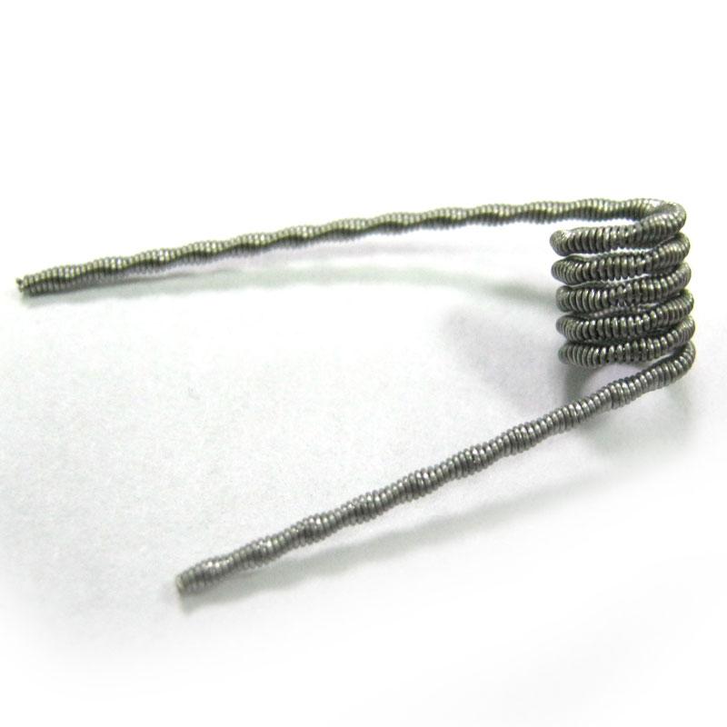 Фото нетГотовая спираль Fused Clapton 0,5Om в ассорт.(для RTA/RBA/RDA атомайзеров)