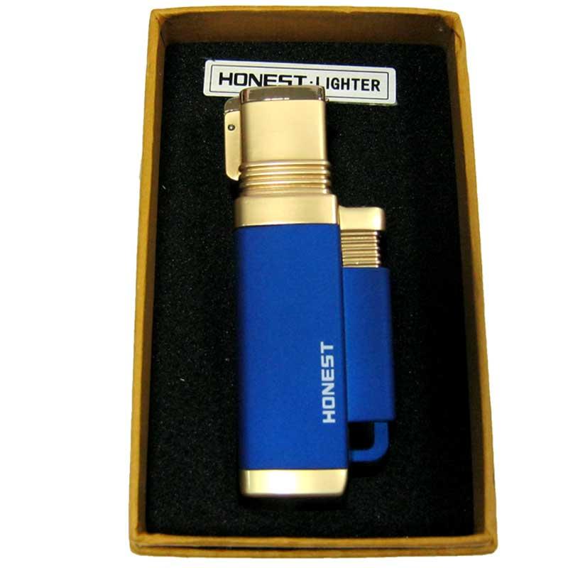 Зажигалка Honest 3542;3883;3886 турбо;подарочная коробка