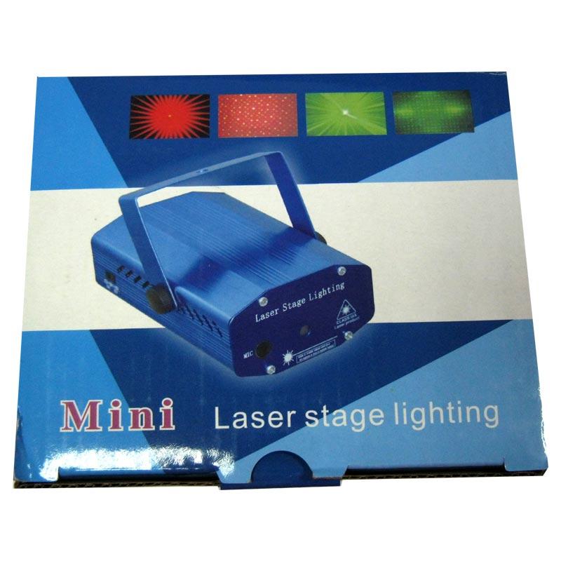 Лазер-диско YX-06;YX-4A red+green звездное небо