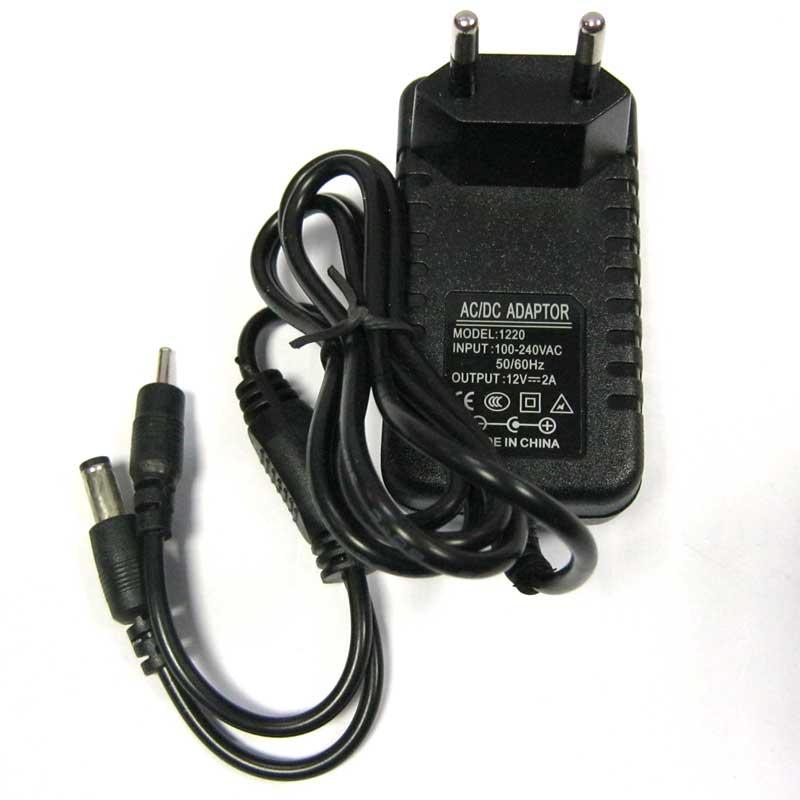 Адаптер питания 12V-3A с 2-я разьемами 5,5х2,5; 3,5х1,5(без кабеля питания)
