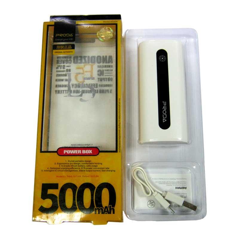 Портативное зарядное устройство Remax Proda E5 (5000mAh) USB(1А) Original