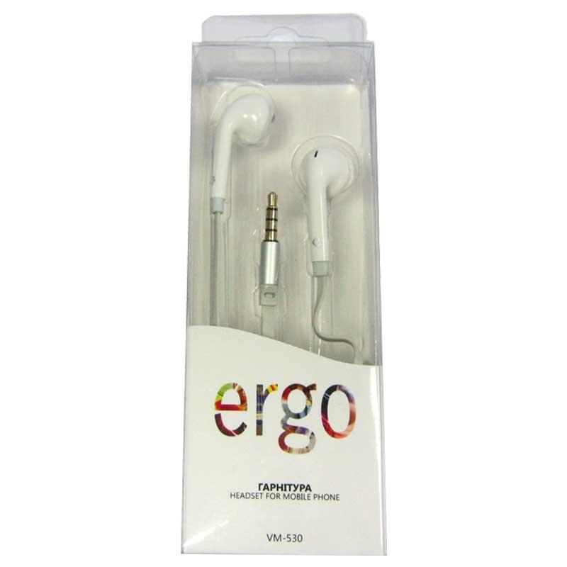 Гарнитура для телефона ERGO VM-530 white