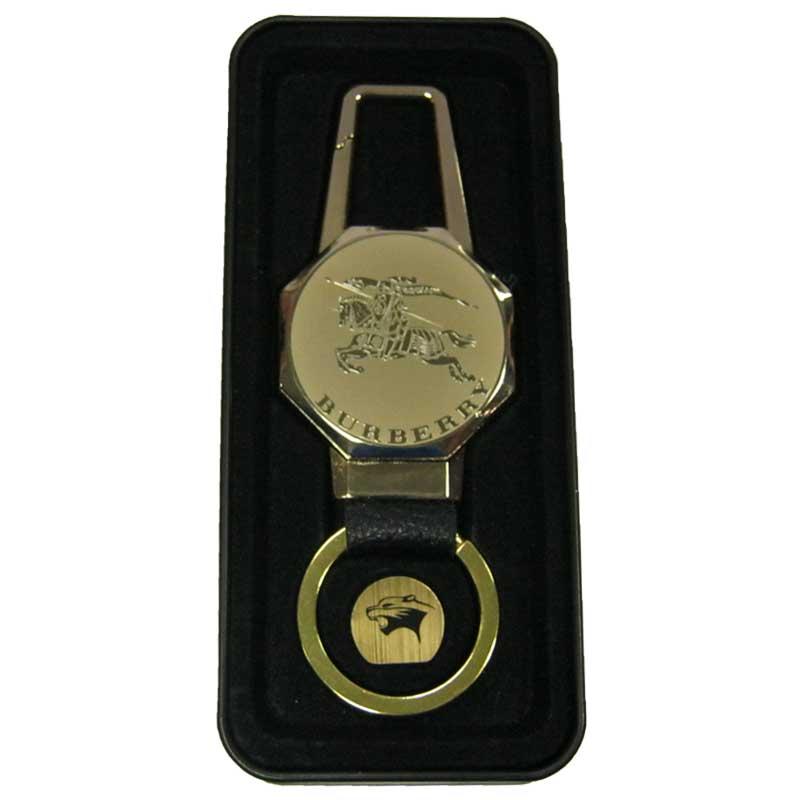 Зажигалка PANTHERA с USB зарядкой брелок+фонарик в метал.коробке(№4687)