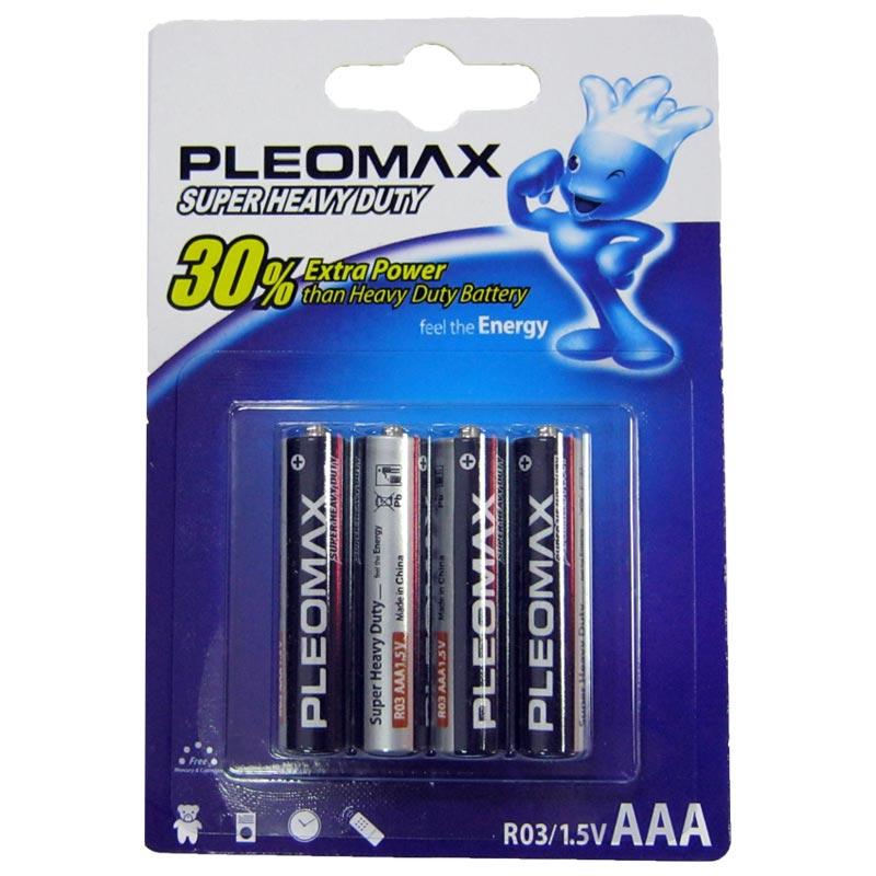 Батарейка R03 Samsung Pleomax blister (по 4шт)