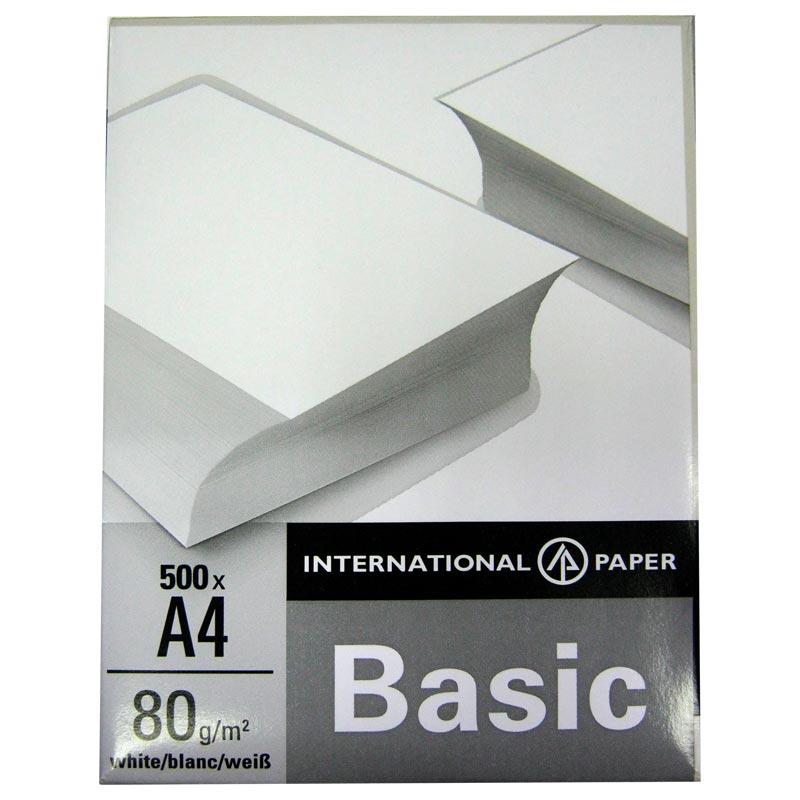 Бумага офисная A4 Basic 80 г/m2 (500 листов)(Акция!!!)