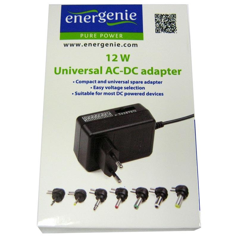 Адаптер питания EnerGenie EG-MC-008 (3,0V-12V; 1,0A;12W max)