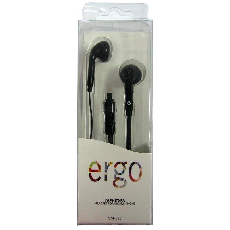Гарнитура для телефона ERGO VM-530 black