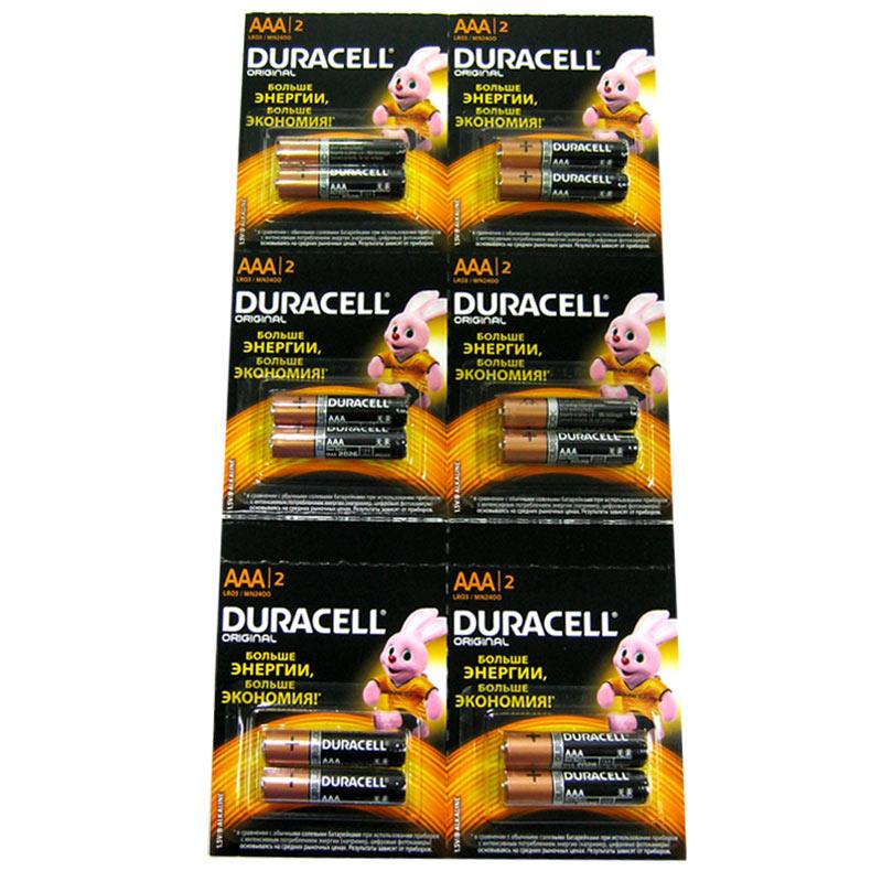 Батарейка LR03 Duracell , блистер по 2шт