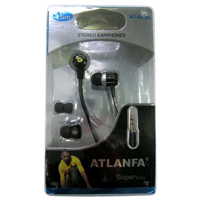 Наушники (Китай) Atlanfa AT-E1016 вакуумные