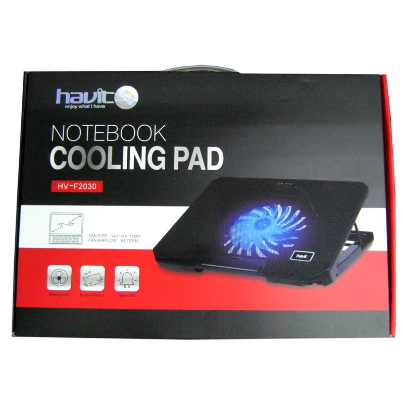 Подставка для ноутбука HAVIT HV-F2030 USB black