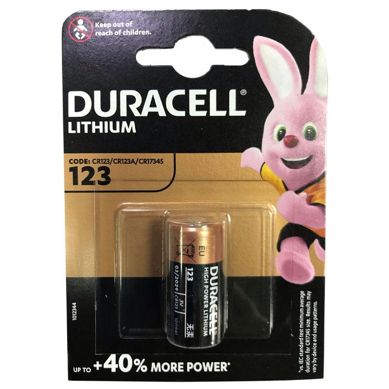 Батарейка CR 123A Duracell 3V Litium