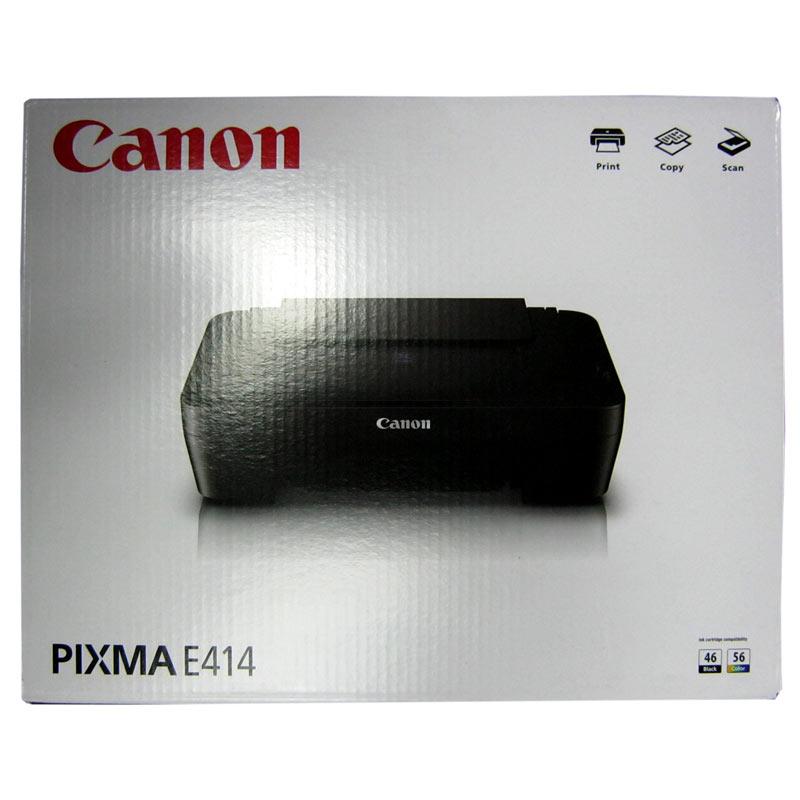 Принтер МФУ Canon Pixma E-414 Black