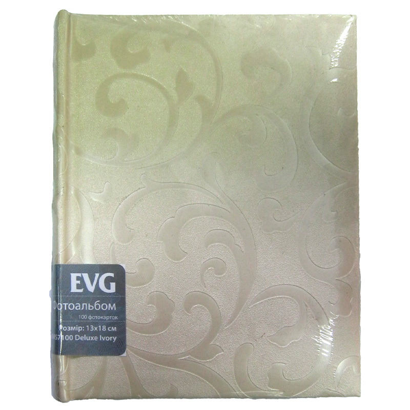Фотоальбом EVG 13/18 на 100шт BKM57100 Deluxe Ivory