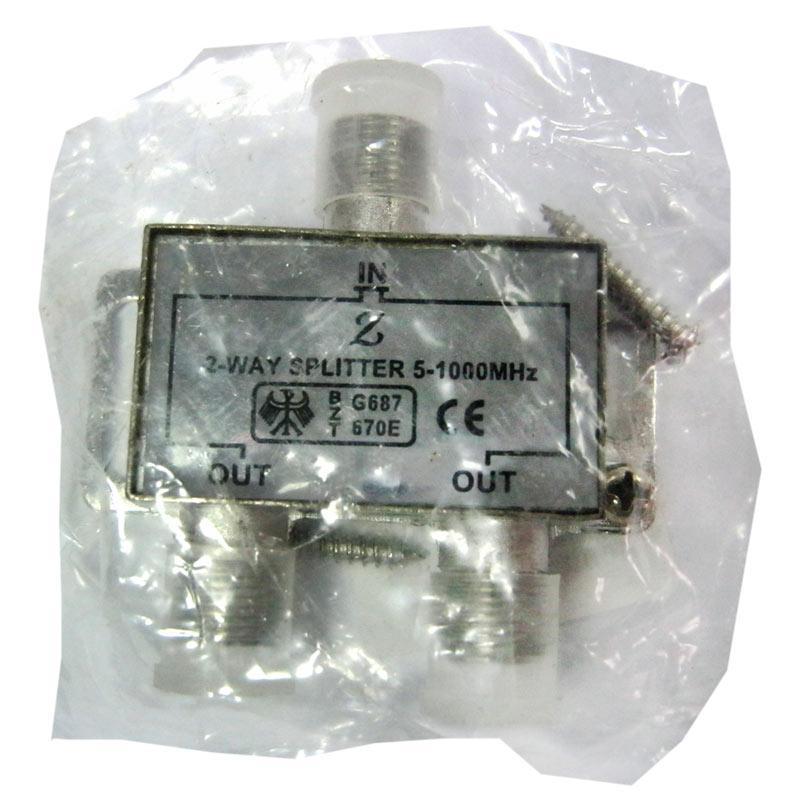 Коннектор разветвитель антенный 1/2 WaySpliter BZT (TV)