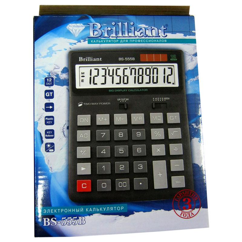 Калькулятор Brilliant BS-555 12 разрядный